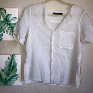 ⭐️ Zara - Basic Shirt  ⭐️ Size M
